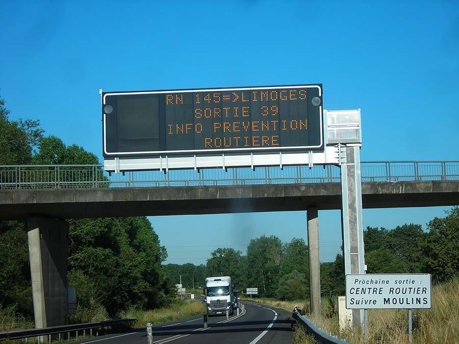 Action sur le tronçon routier RCEA