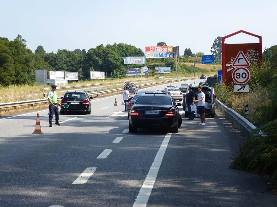 Action à la frontière de Monção et Valença