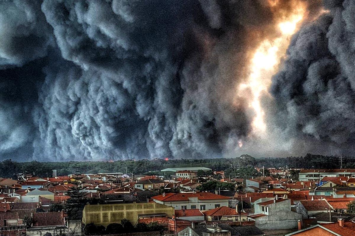 Inferno Em Chamas Awesome incêndios, quando o inferno desceu à terra - cap magellan