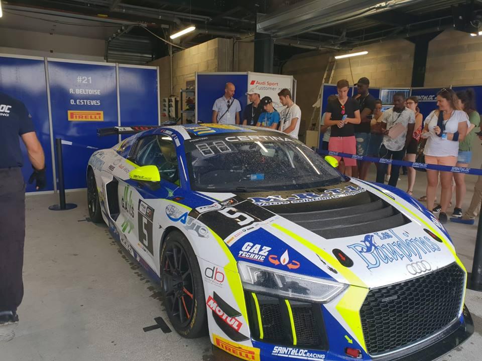 Lonni Martins aux Championnat de France Des Circuits GT4