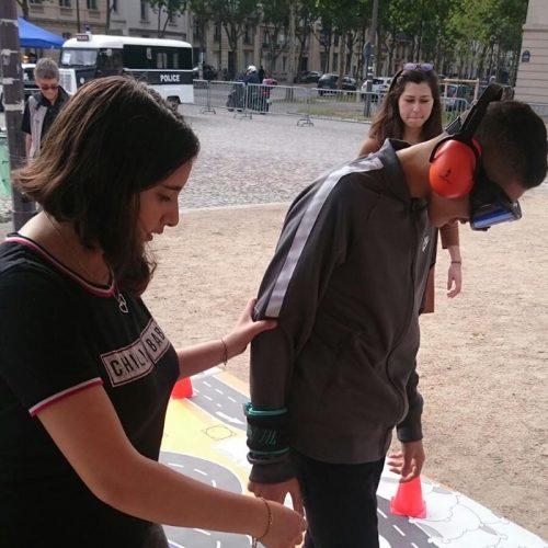 Action de sensibilisation place Vauban