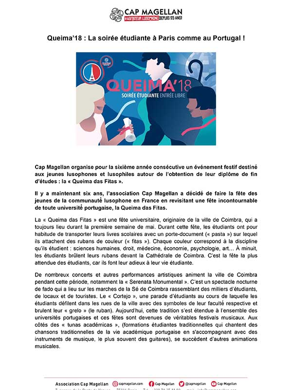 180919 - Queima'18 - La soirée étudiante à Paris comme au Portugal-1