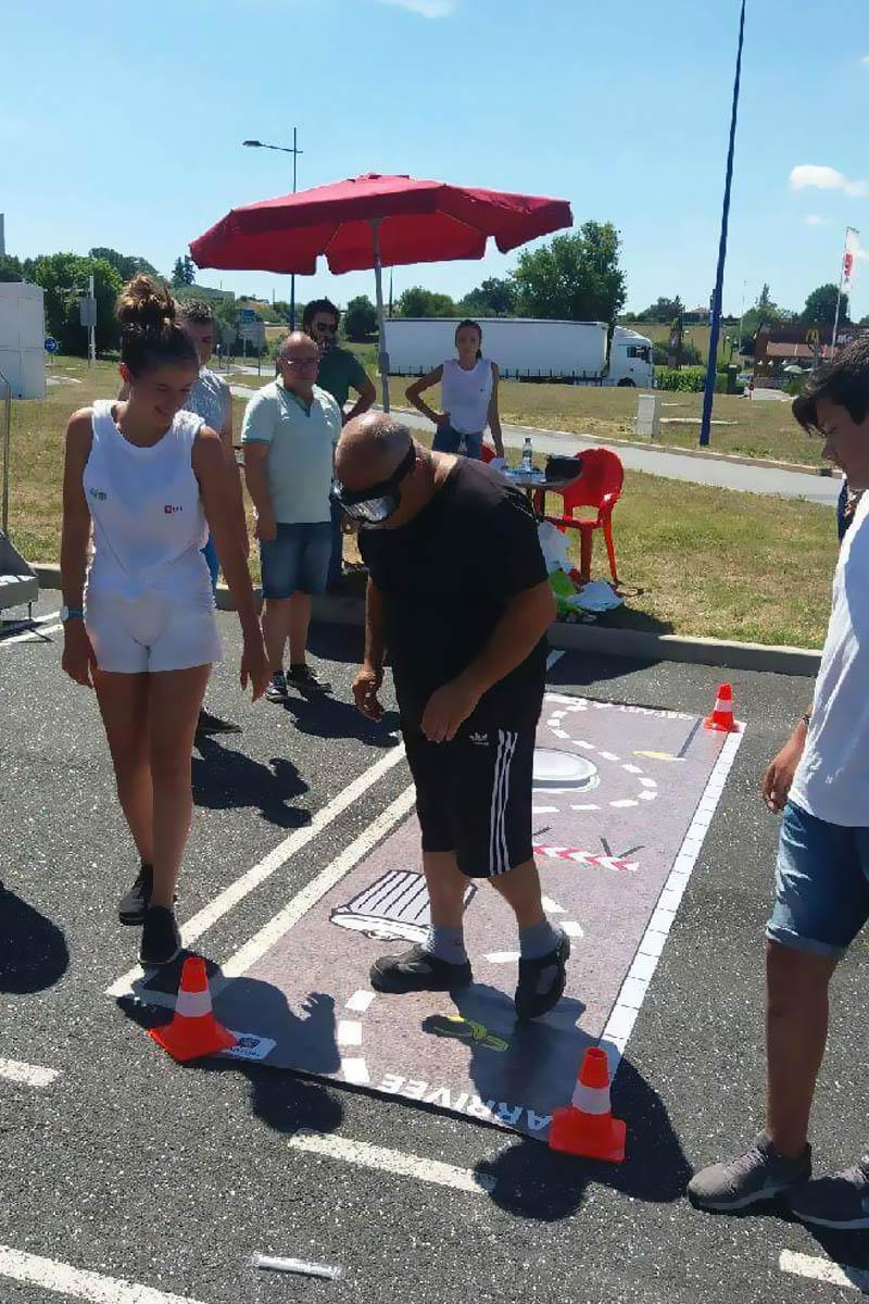 Action de prévention Tronçon RCEA 15/16 juillet
