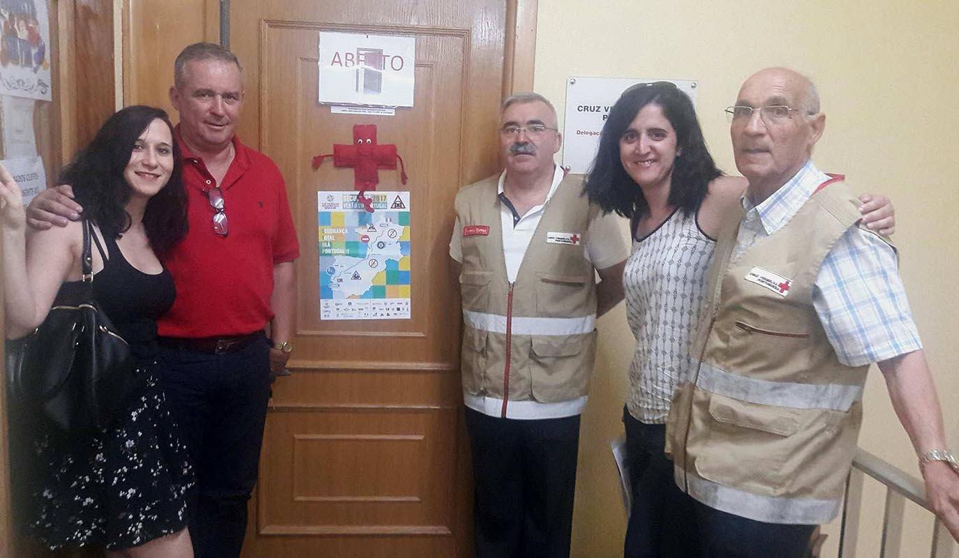 Visite auprès de La Croix Rouge de Chaves