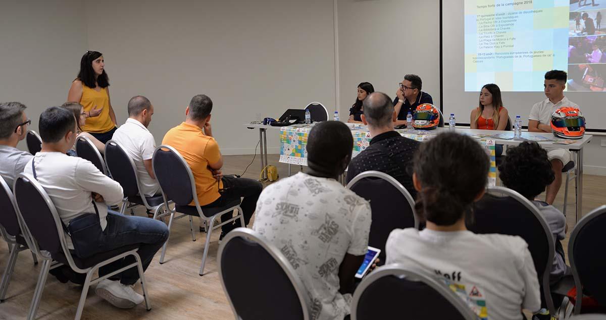 Lancement à l'Aerokart ©ANA ISABEL FREITAS