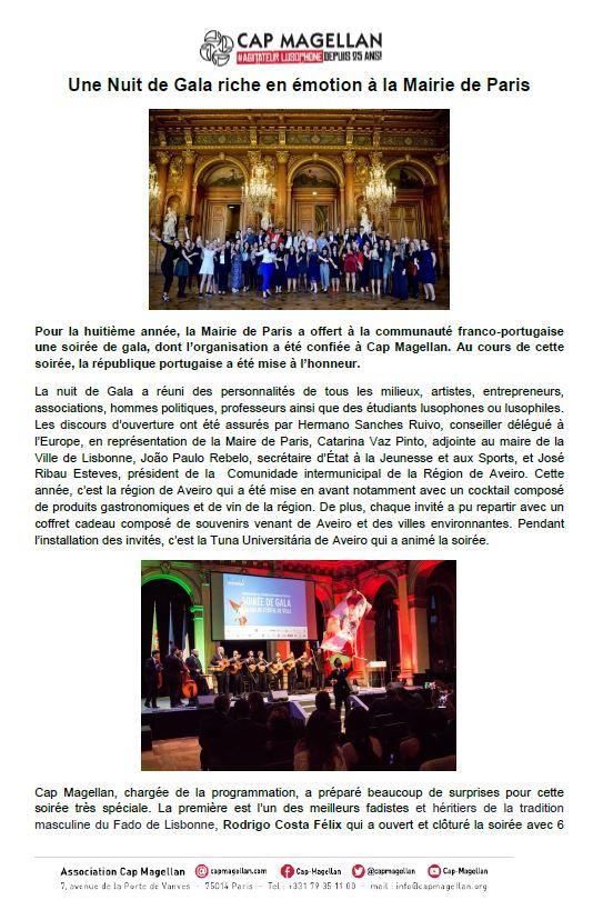 181017 Gala18 Une nuit de Gala riche en émotion à la mairie de Paris