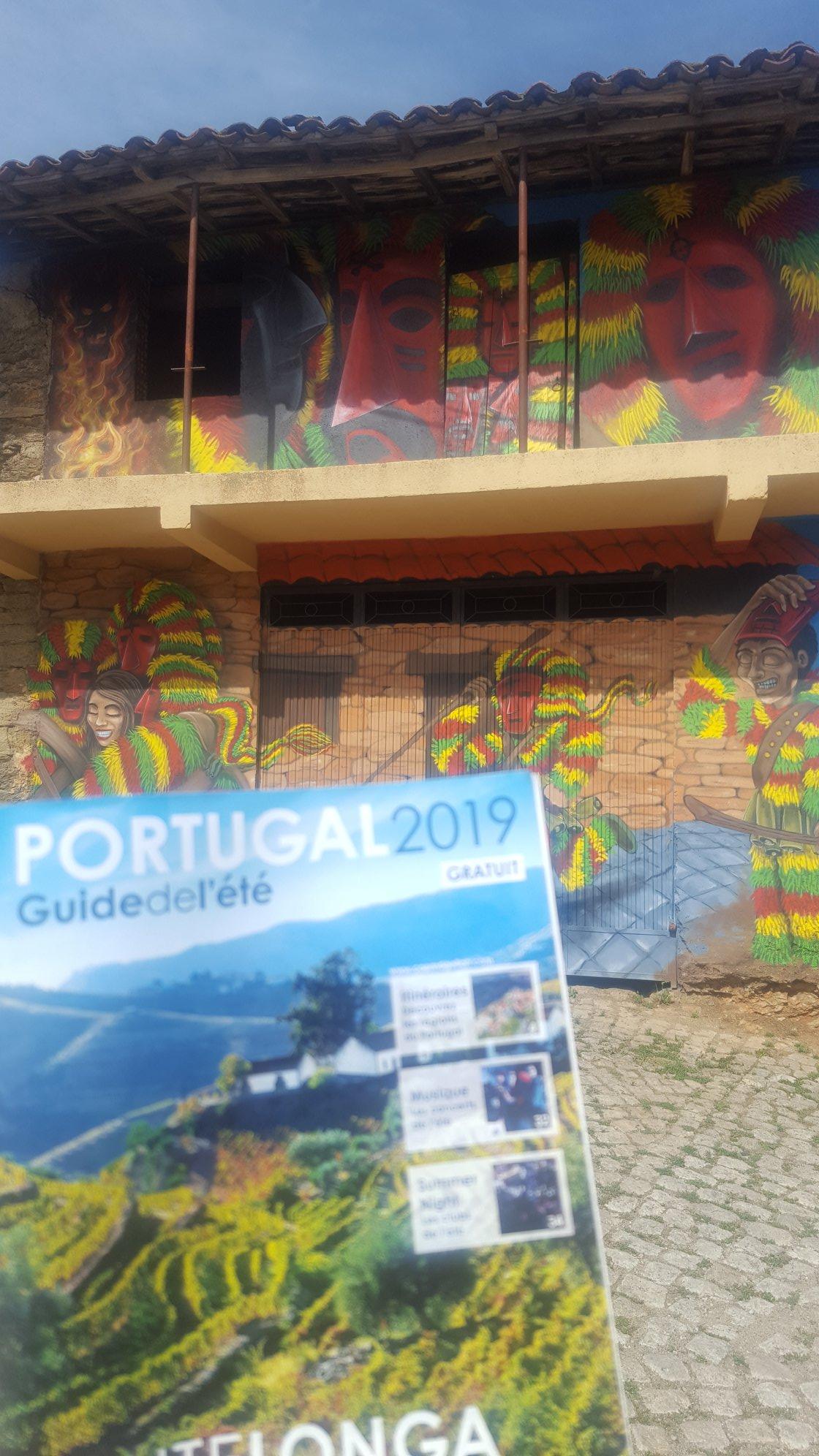 Visite du museu dos Caretos, à Podence, le 10 aout 2019