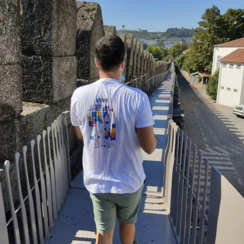 Sécurété2020 - Action Bénévoles Guimarães et Braga - Distribution Guides de l'Éte